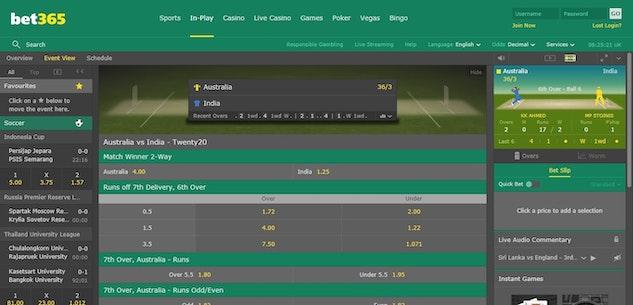Live cricket on bet 365 best binary options indicator 2021