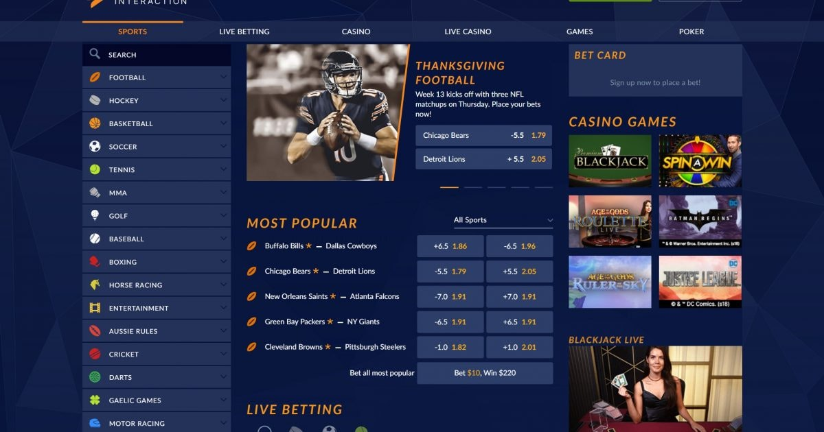 Sports Interaction Betting Review