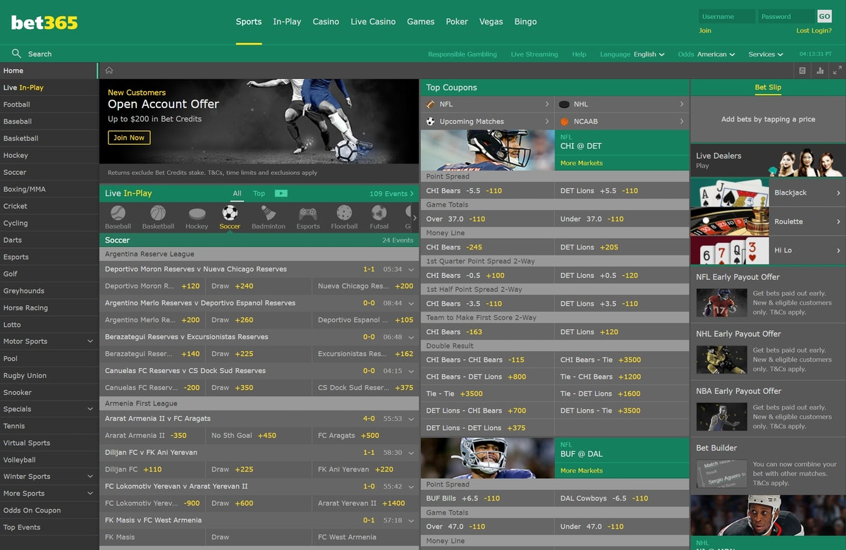 Bet365 live betting trends comment gagner des bitcoins for free