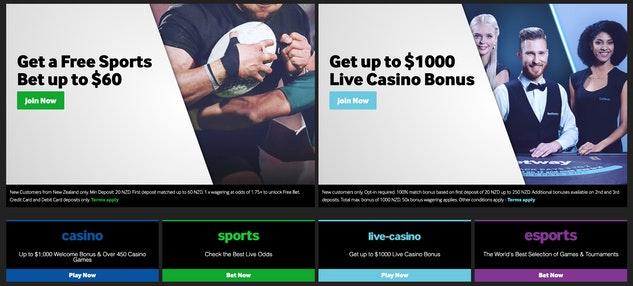 betting sites with sign up bonus