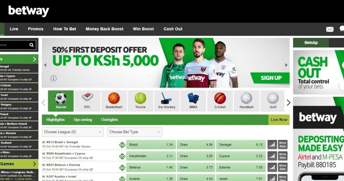 Betway sports betting kenya hollywood sports betting login