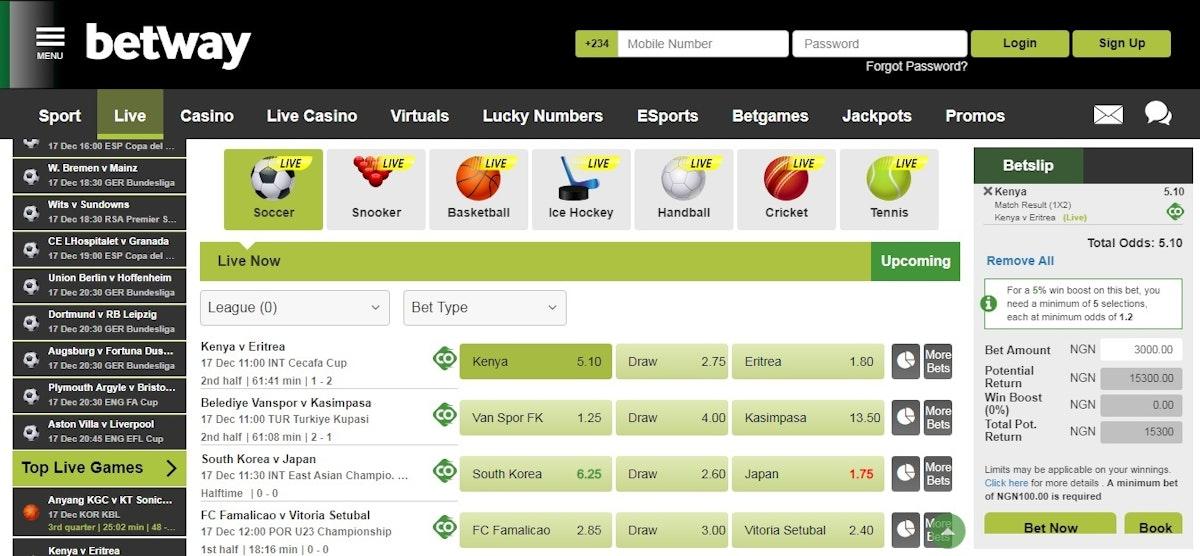 football betting sites in nigeria